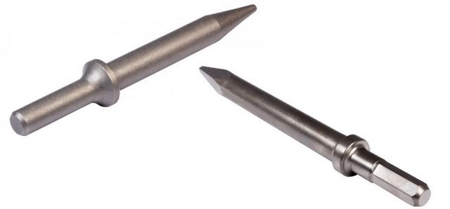 Пики с хвостовиками 30 мм – цилиндрическим и шестигранным