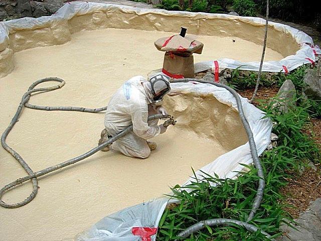 полимочевина на бетон