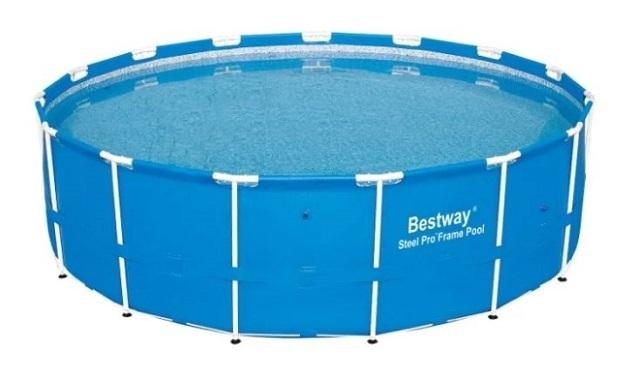 Каркасный бассейн «Bestway Steel Pro Frame 56026/56406»