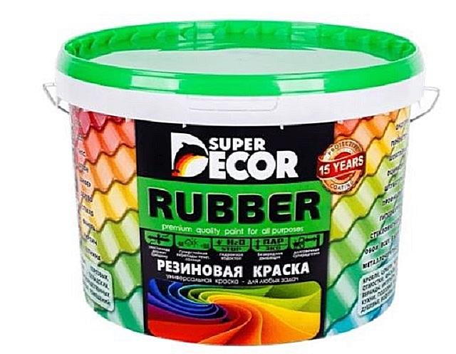 Резиновая краска «Super Decor Rubber»