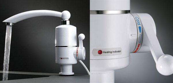 Проточный водонагреватель 3кВт Посейдон