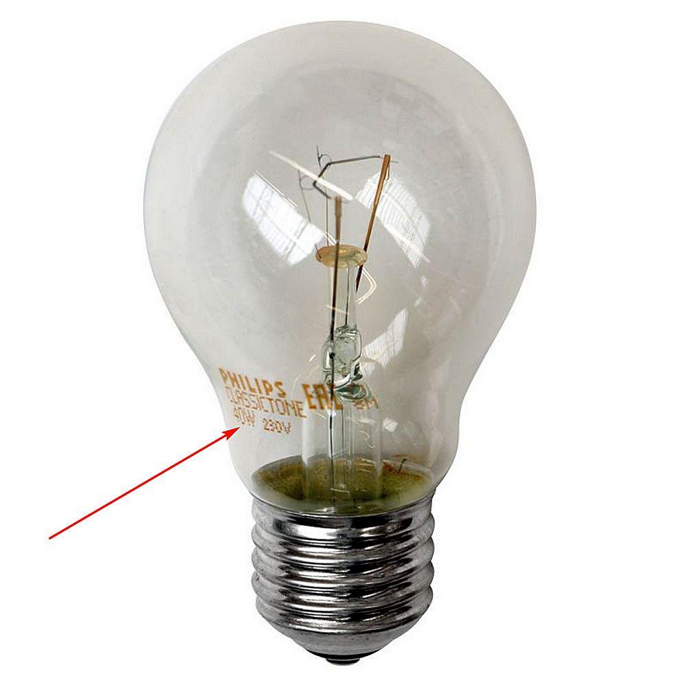 Эти ватты – потребление электроэнергии, львиная доля из которой, как мы помним, уйдет на бесполезный в данном случае нагрев.