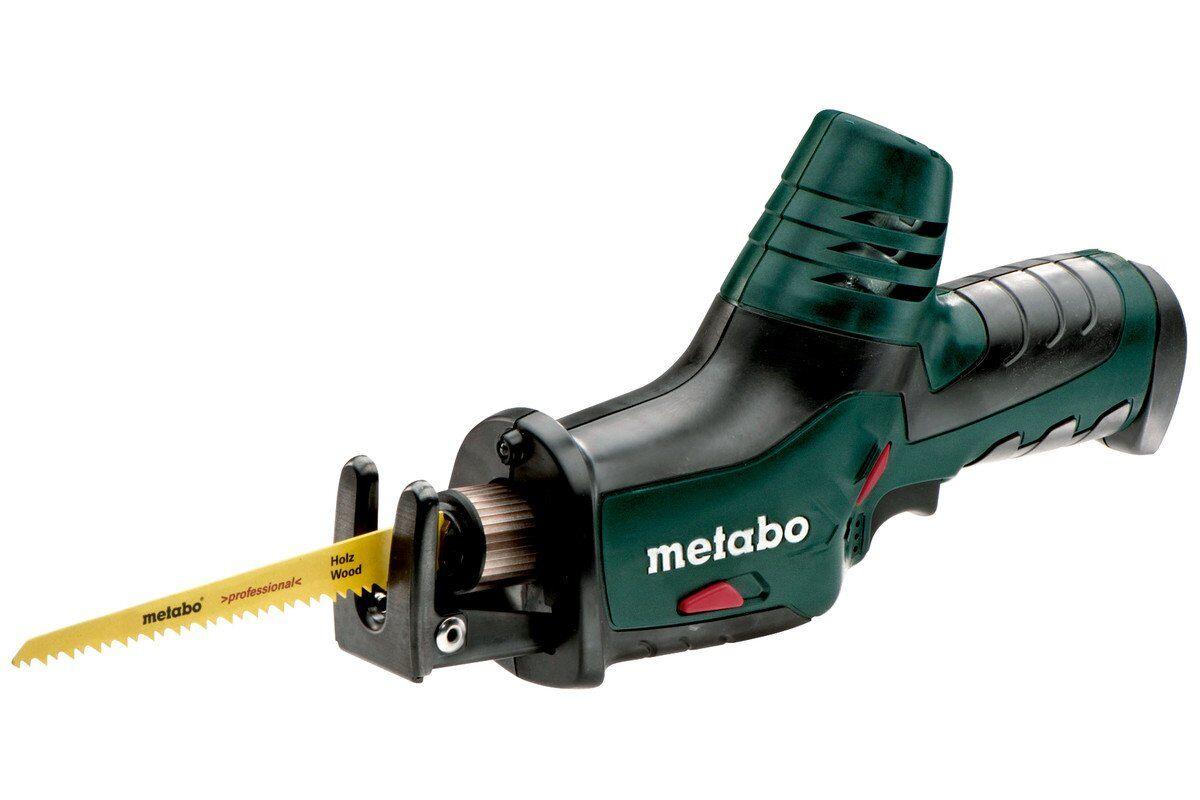Сабельная пила «METABO ASE 10.8 2.0Ah x2 Case» - «малыш» с очень широкими возможностями