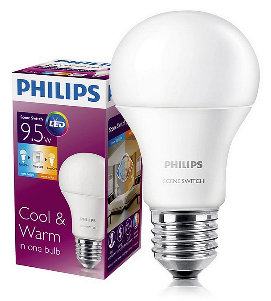 «Золотая медаль» в нашем рейтинге достается светодиодным лампам всем известного бренда «PHILIPS»