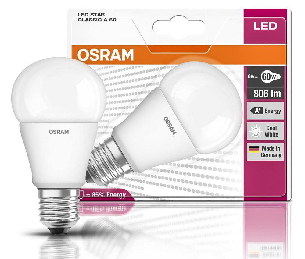 Бронзовый призёр – ассортимент светодиодных ламп германской компании «OSRAM» оригинального производства