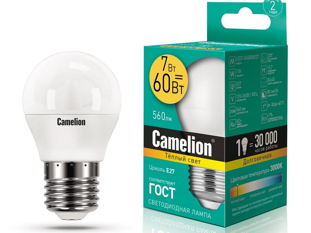 Светодиодная лампа из модельного ряда компании «CAMELION»