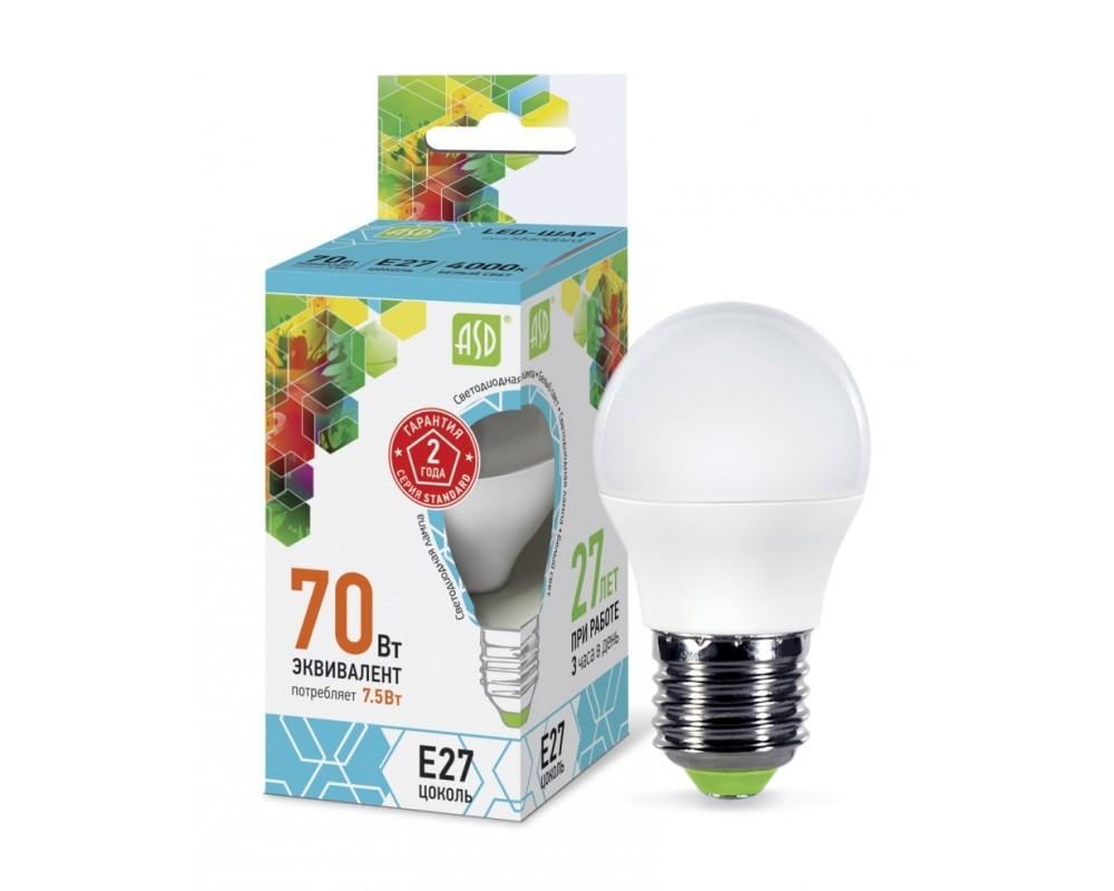 Тоже отечественная разработка и производство – светодиодные лампы «ASD»