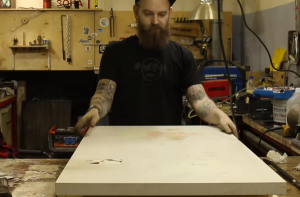 Cтолешница из эпоксидной смолы своими руками- техноология изготовления