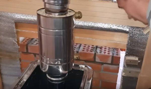 Подключение бака для воды