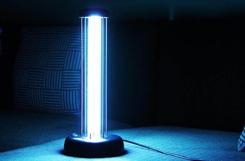 Под лучами кварцевой лампы не выживут никакие вирусы