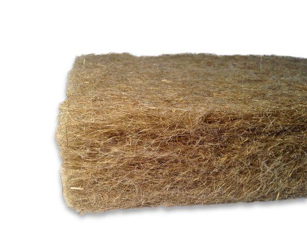 Экологически безопасный, натуральный льняной утеплитель для стен, кровли, перегородок и перекрытий