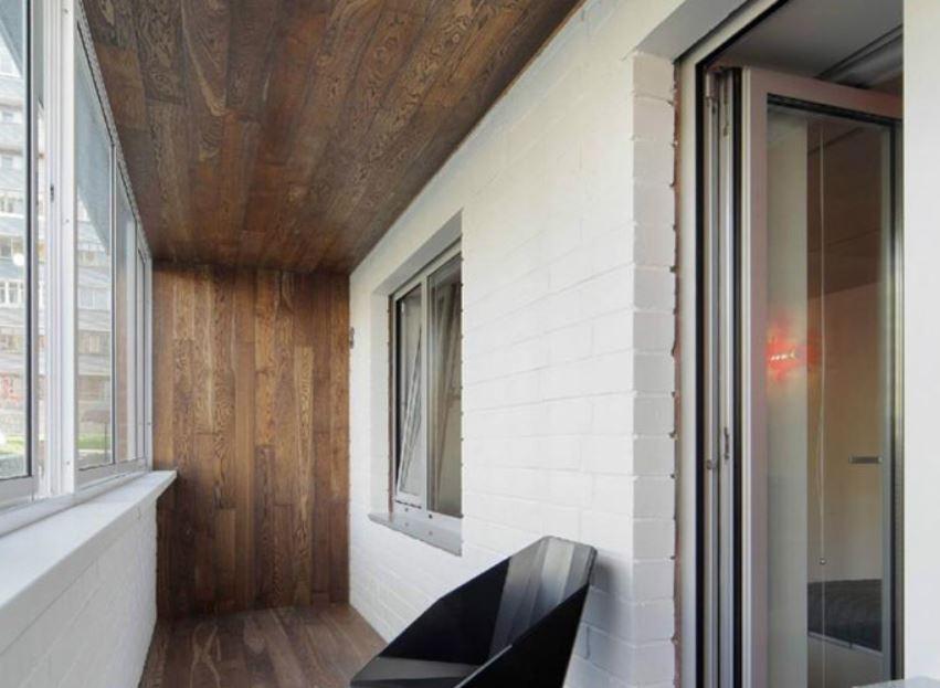Ламинат можно стелить не только на пол, но и использовать для отделки стен