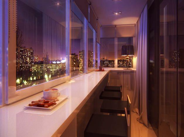 Идеальный балкон для романтичных особ
