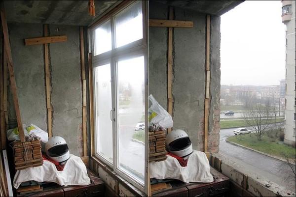 Балкон сейчас нередко представляет собой просто склад ненужных вещей