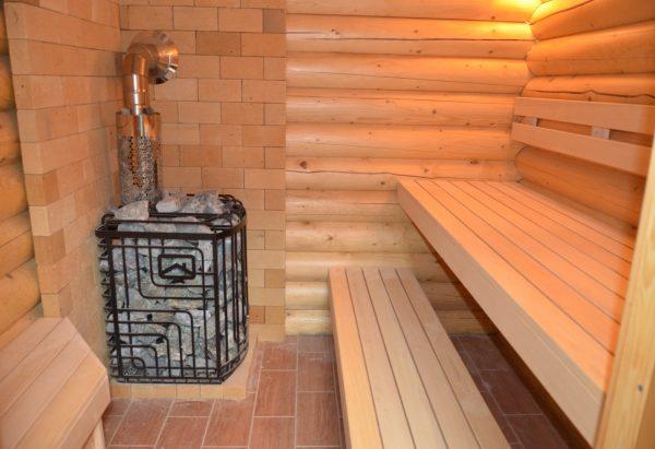 Особенно актуален теплый пол в банях с керамическим полом