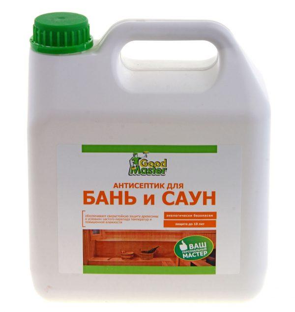 Покупая состав необходимо прочитать инструкцию, обычно на упаковке есть пометка о том, что пропитка предназначена для использования в бане и сауне