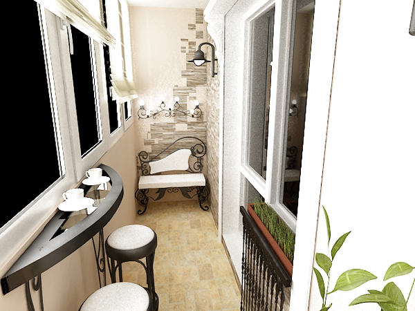 Кофейня прямо у вас на балконе
