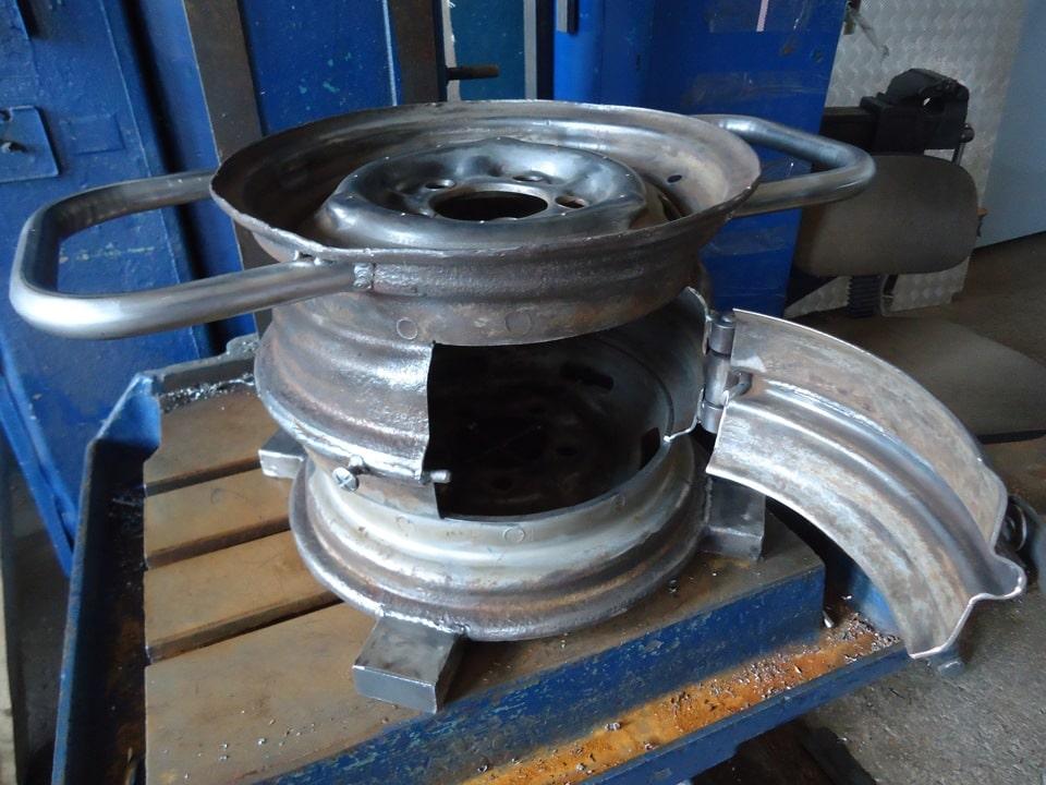 Буржуйка для гаража из старых дисков: делаем печь буржуйку своими руками0
