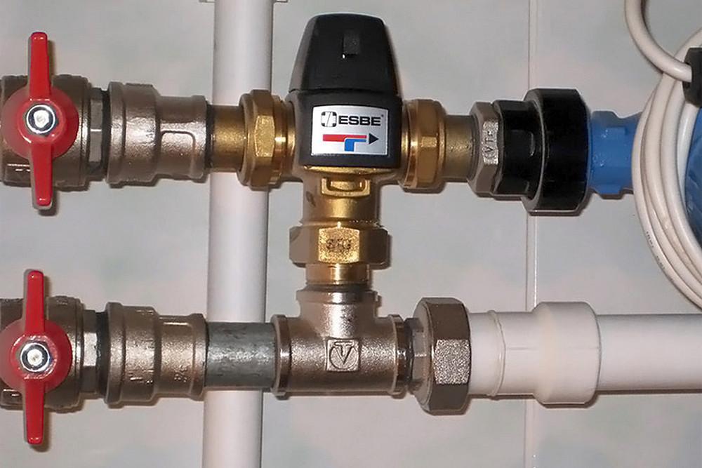 Трехходовые клапаны в системе отопления принцип действия и схемы установки.