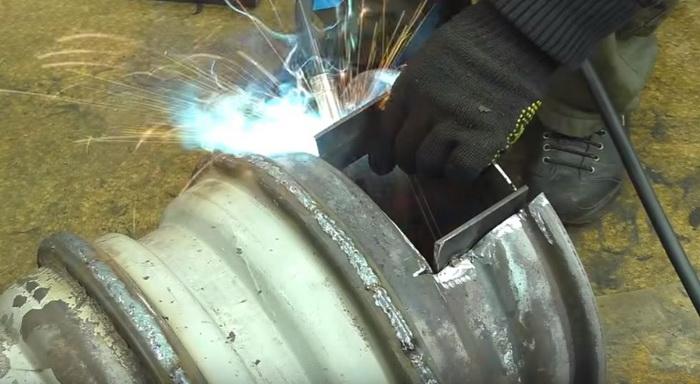 Буржуйка для гаража из старых дисков: делаем печь буржуйку своими руками22