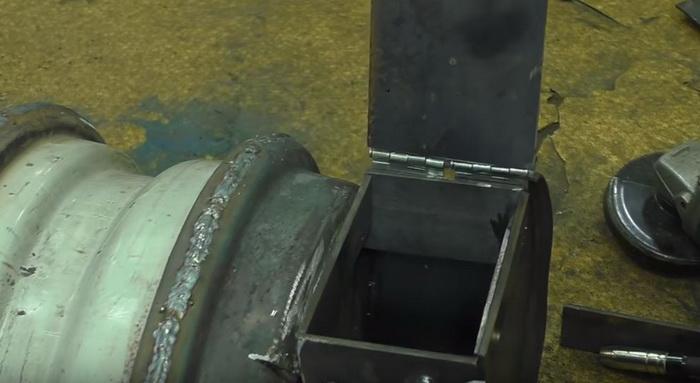 Буржуйка для гаража из старых дисков: делаем печь буржуйку своими руками26