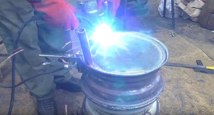 Буржуйка для гаража из старых дисков: делаем печь буржуйку своими руками36