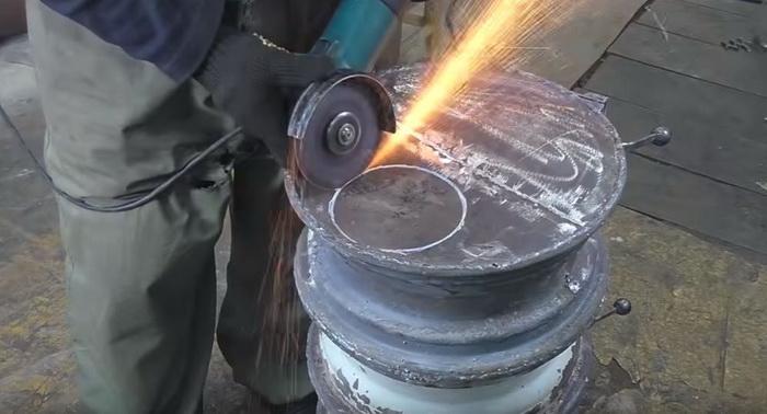 Буржуйка для гаража из старых дисков: делаем печь буржуйку своими руками41