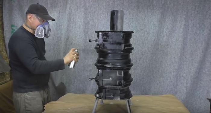 Буржуйка для гаража из старых дисков: делаем печь буржуйку своими руками44