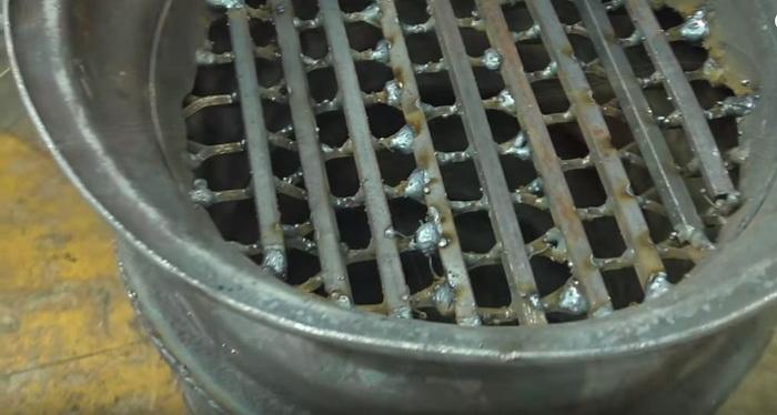 Буржуйка для гаража из старых дисков: делаем печь буржуйку своими руками14