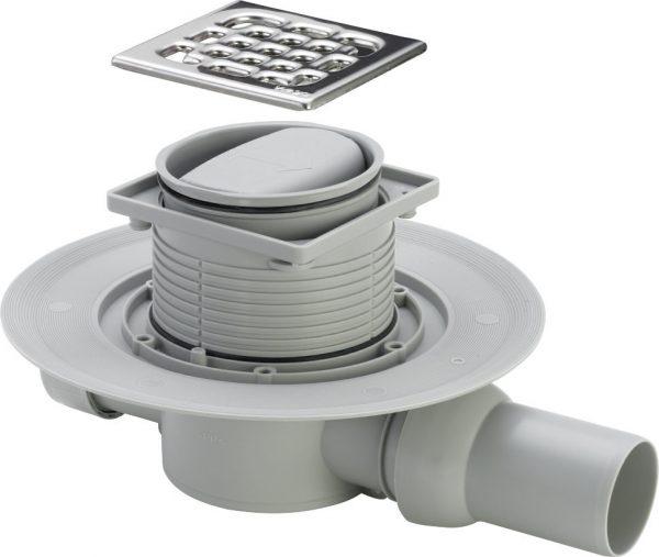 Устройства для водоотведения с сухим затвором не пропускает неприятные запахи из канализации