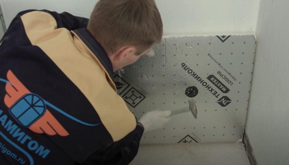 PIR-плиты LOGICPIR закрепляйте при помощи тарельчатого крепежа
