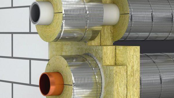 Базальтовая высокотемпературная теплоизоляция