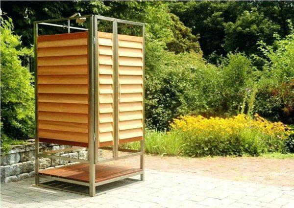 Кабинка для летнего садового душа
