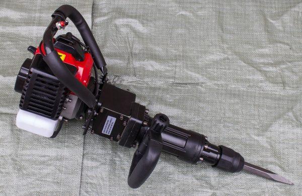 Бензиновый отбойный молоток-перфоратор
