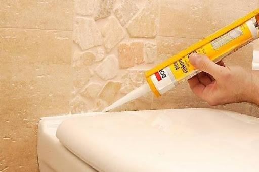Использование санитарного герметика