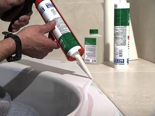 Санитарный герметик обладает отличными антисептическими свойствами