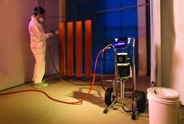 Безвоздушное распыление лакокрасочных материалов