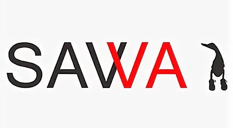 Логотип производственной компании «SAVVA» - с узнаваемой уточкой в ботинках