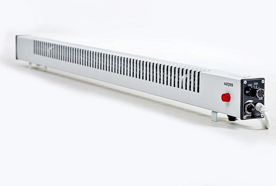 Все электрические плинтусы «Мегадор» имеют одинаковую внешнюю компоновку – устанавливаются на пол (подвешиваются на стену)по всему периметру или только в нужном, по мнению хозяев, месте.