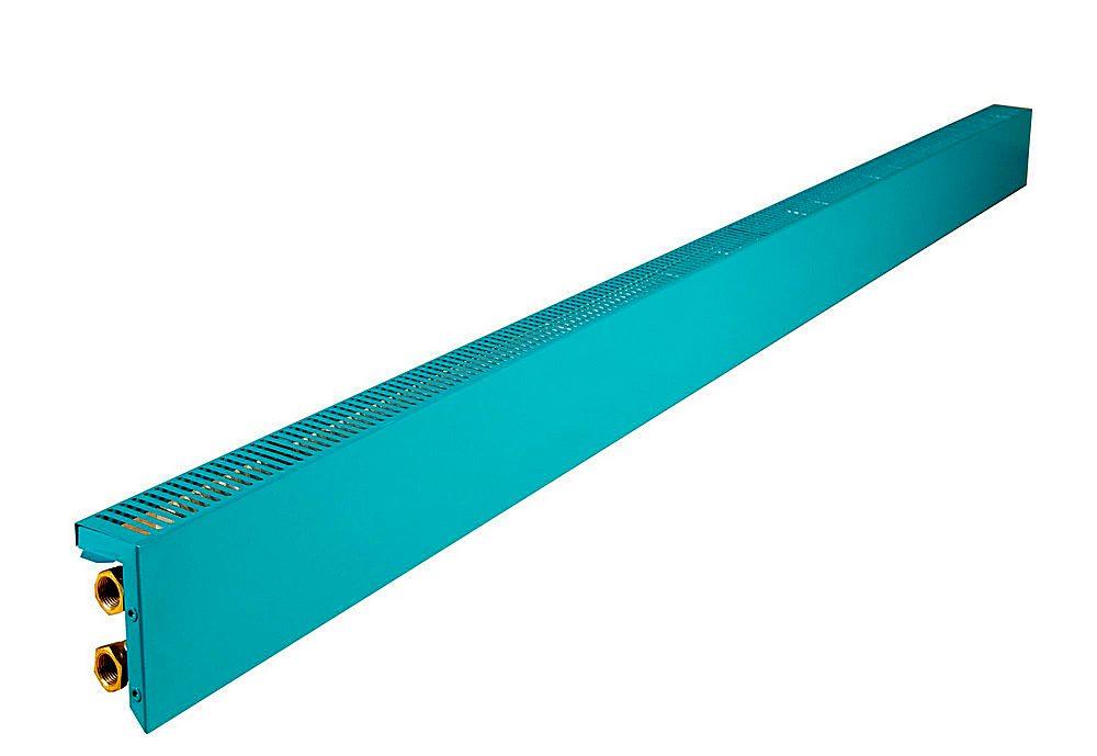 Заказчику, видимо, понравился вот такой цвет – теплый плинтус «Techno Board» с оригинальным оттенком.