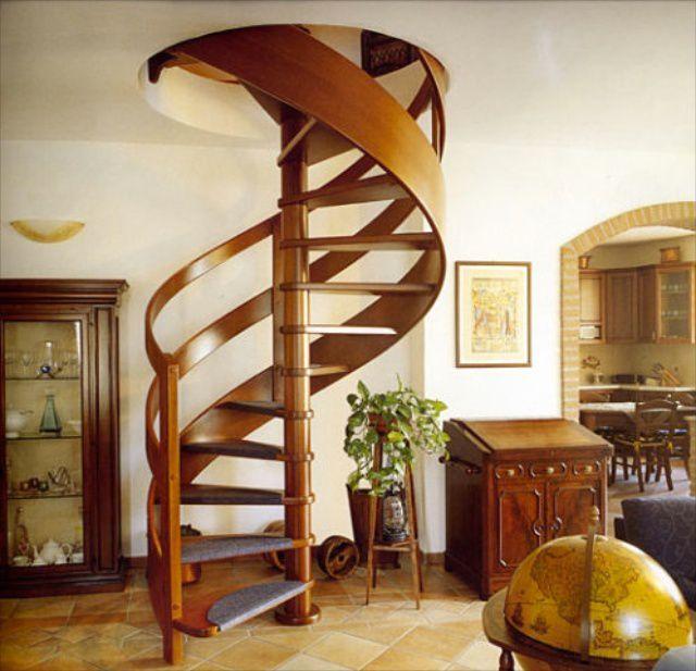Деревянные межэтажные лестницы