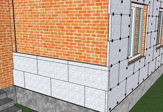 Примерная схема расположения панелей на стене