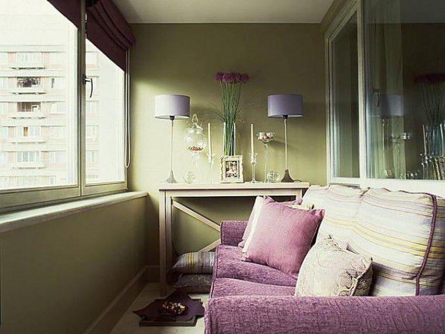 При качественном утеплении лоджия может даже превратиться в спальную