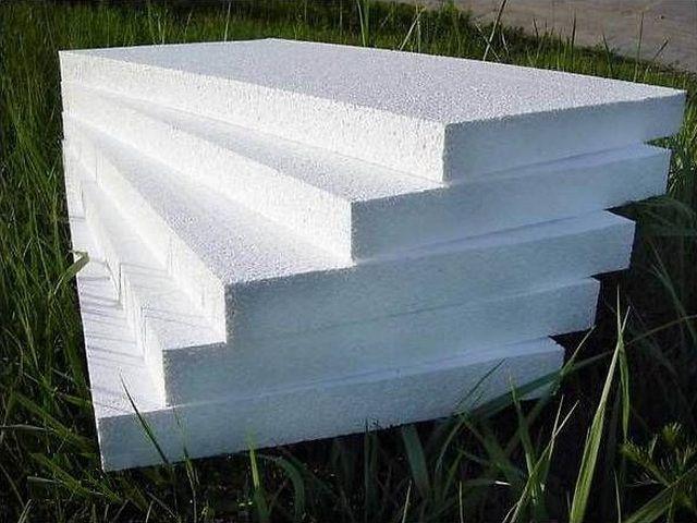 Стандартные пенополистирольные блоки