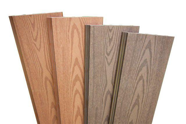 Сайдинг из древесного композита