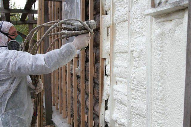 Утепление пенополиуретаном потребует специального оборудования