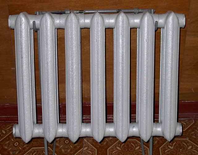 Чугунные секционные радиаторы - нестареющая классика