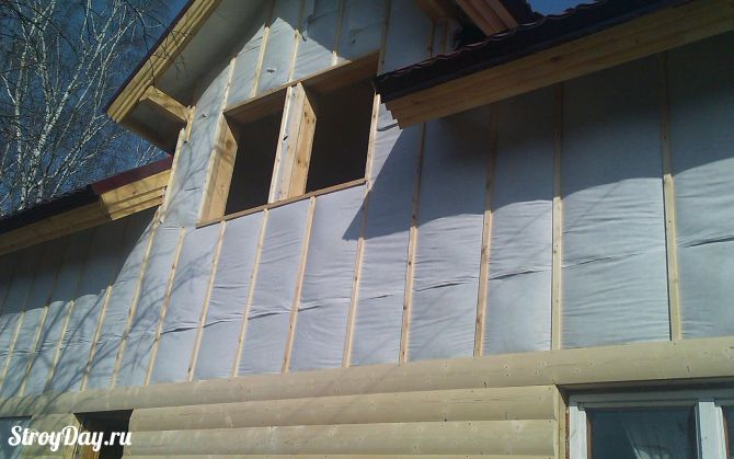 Утепление деревянного дома снаружи