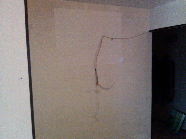 Стена на которую мы будем устанавливать телевизор