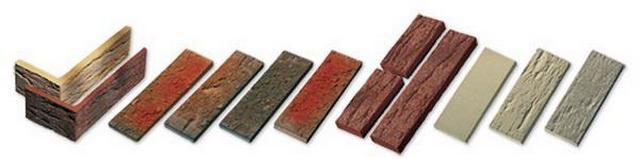Разнообразие форм и расцветок клинкерной плитки